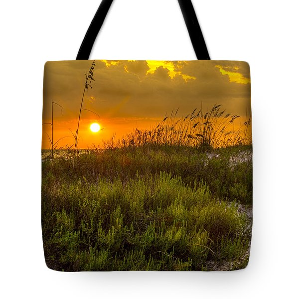 Sunset Dunes Tote Bag