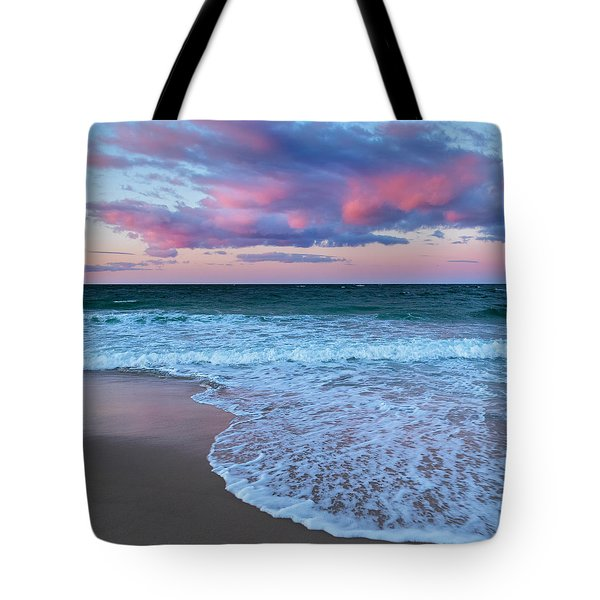 Sunset East Square Tote Bag