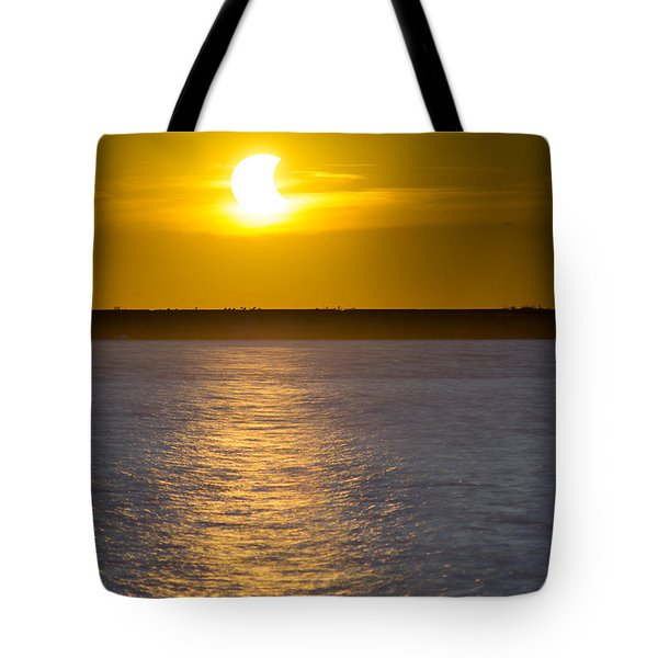 Sunset Eclipse Tote Bag