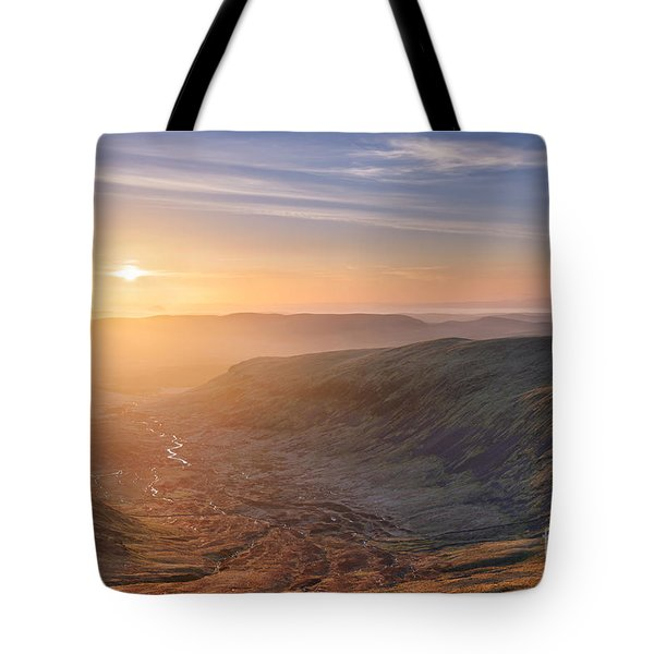 Sunset From The Merrick Tote Bag