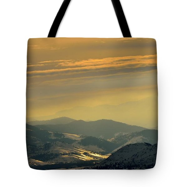 Sunset Glow Tote Bag by Kae Cheatham