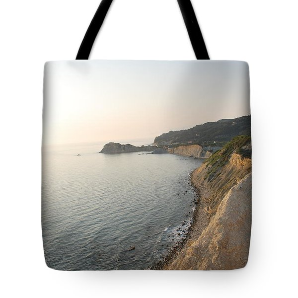 Tote Bag featuring the photograph Sunset Gourna by George Katechis