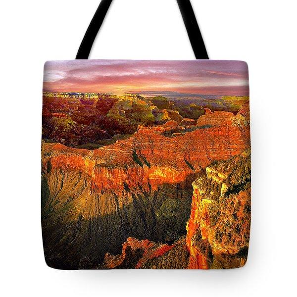 Sunset Grand Canyon Arizona Tote Bag