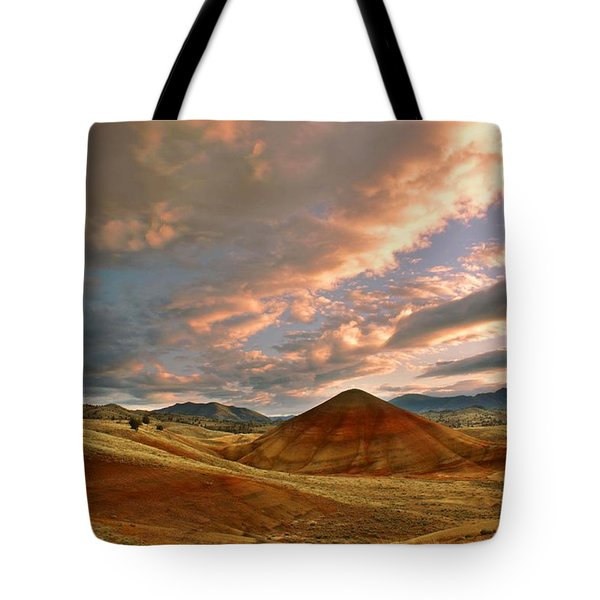 Tote Bag featuring the photograph Sunset Hill by Sonya Lang