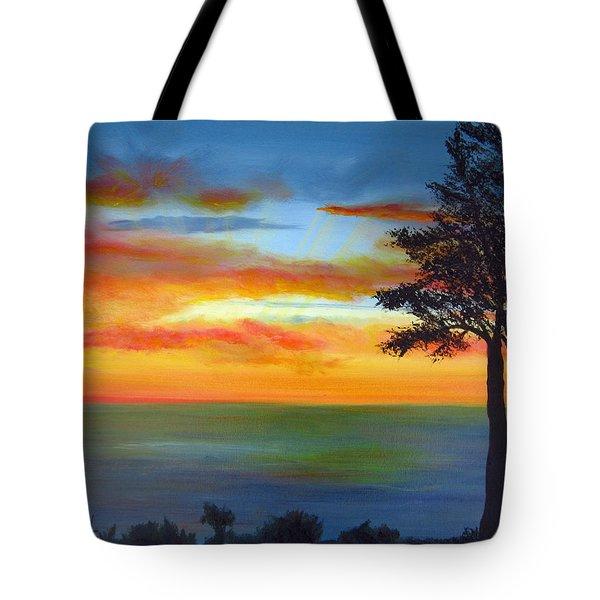 Sunset IIi Tote Bag by Dottie Kinn