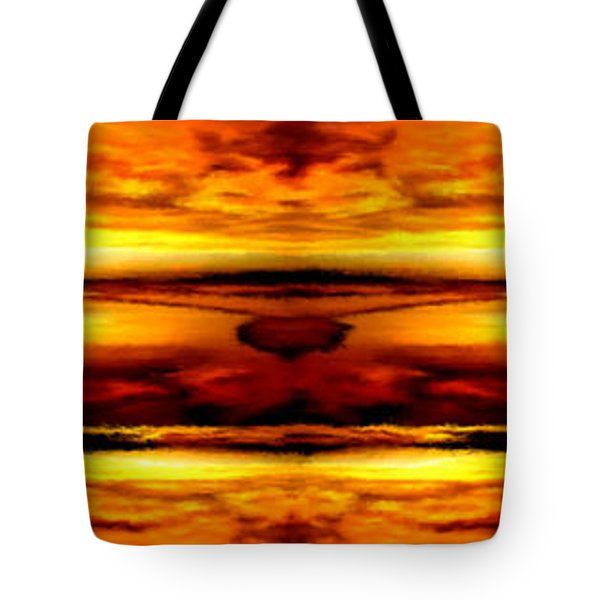 Sunset In Heaven Tote Bag by Bruce Nutting