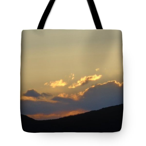 Sunset In June Tote Bag by Christina Verdgeline