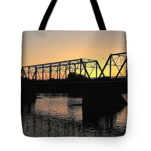 Sunset In June Tote Bag