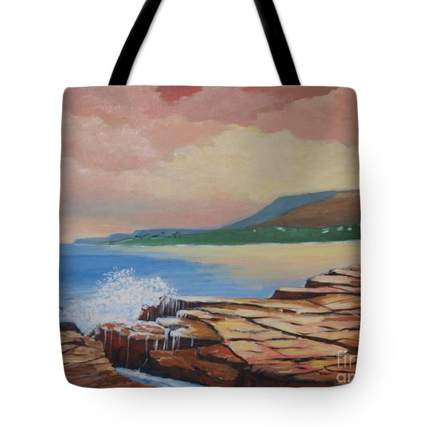 Sunset In New South Wales Tote Bag