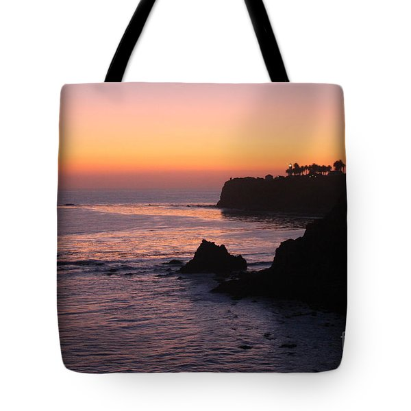 Sunset In Paradise Tote Bag by Bev Conover