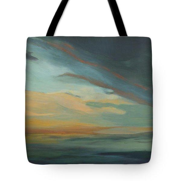 Sunset In St. Petersburg Tote Bag