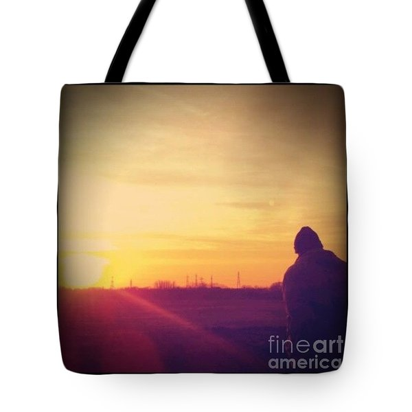 #sunset Tote Bag by Isabella F Abbie Shores FRSA