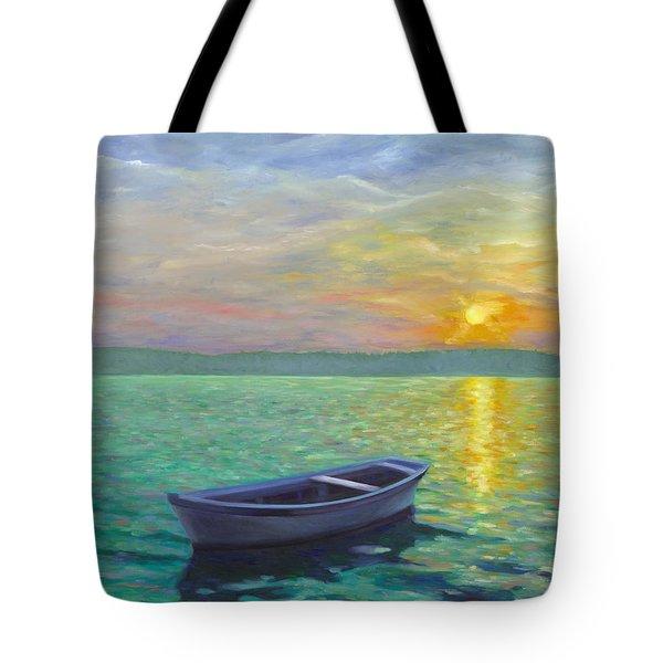 Sunset Tote Bag by Joe Maracic