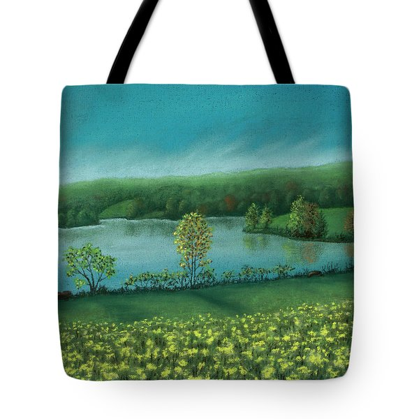 Sunset Lake C Tote Bag