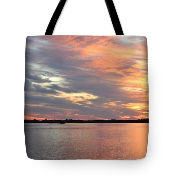 Sunset Magic Tote Bag by Cynthia Guinn
