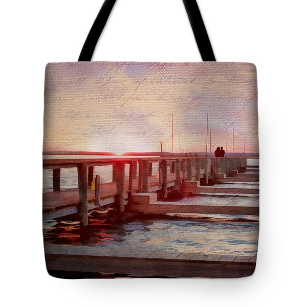 Sunset Memories From Chincoteague Tote Bag by Julia Springer