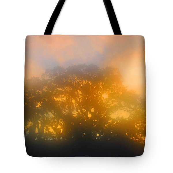 Sunset Mocks Sunrise Tote Bag