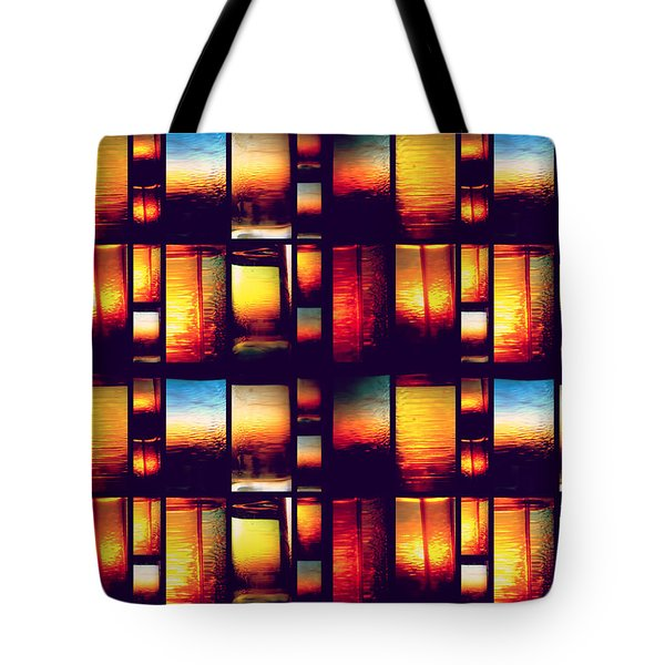 Tote Bag featuring the photograph Sunset Mosaic by Aurelio Zucco