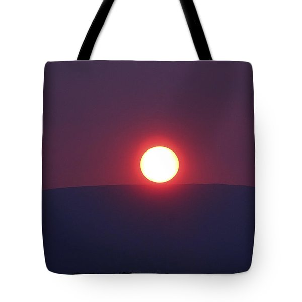 Sunset Mountain Tote Bag by Aidan Moran