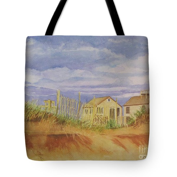 Sunset Nantucket Beach Tote Bag