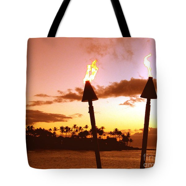 Sunset Napili Maui Hawaii Tote Bag