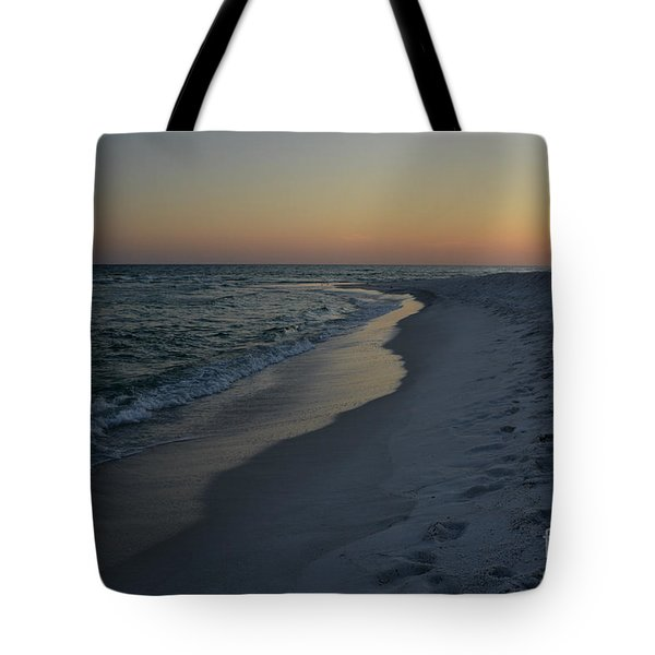 Sunset Navarre Beach Tote Bag by Janice Spivey