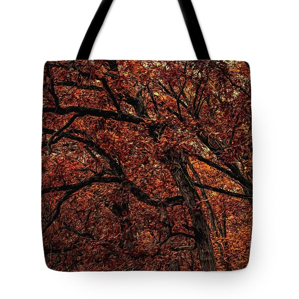 Sunset Oaks 2 Tote Bag by Trey Foerster