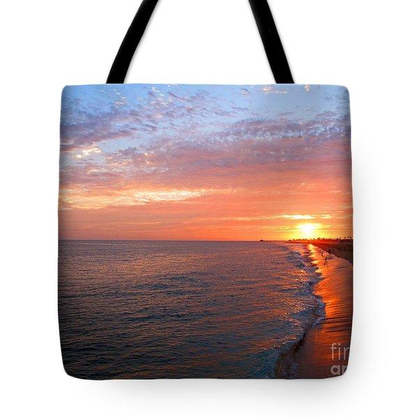 Sunset On Balboa Tote Bag