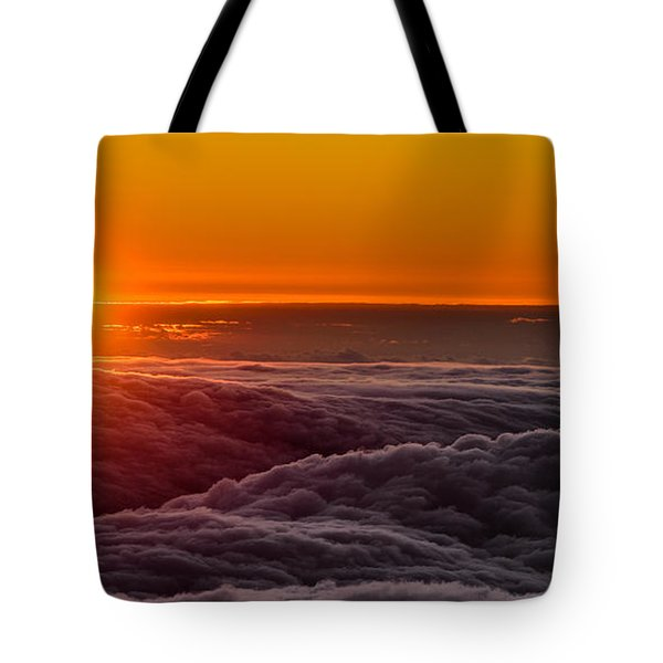 Sunset On Cloud City 1 Tote Bag