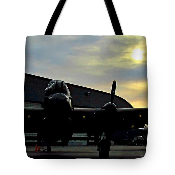 Sunset On Rememberance Day Tote Bag by Danielle  Parent