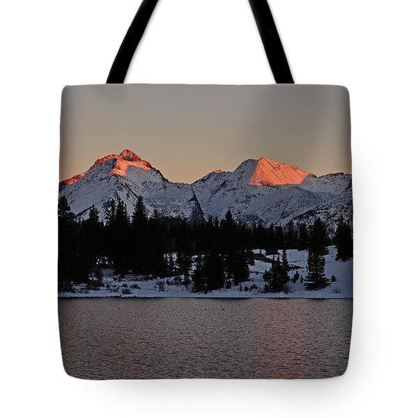 Sunset On The Grenadiers Tote Bag