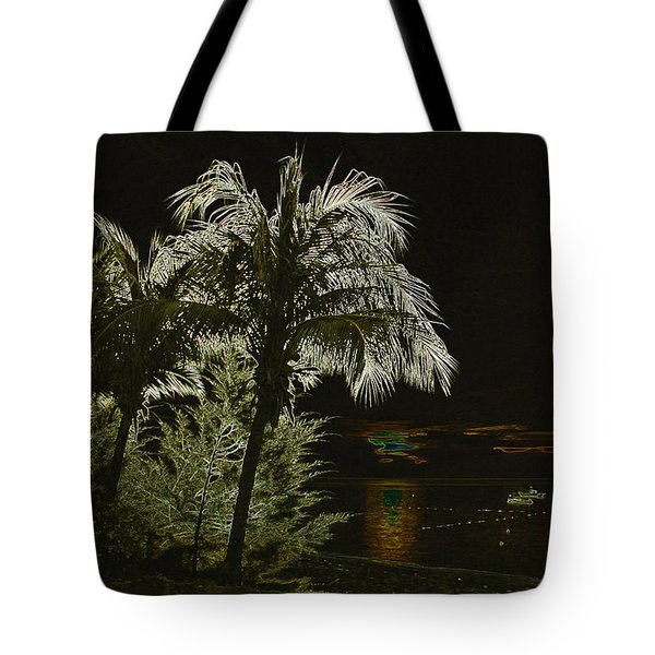 Tote Bag featuring the photograph Sunset On Tioman Island by Sergey Lukashin