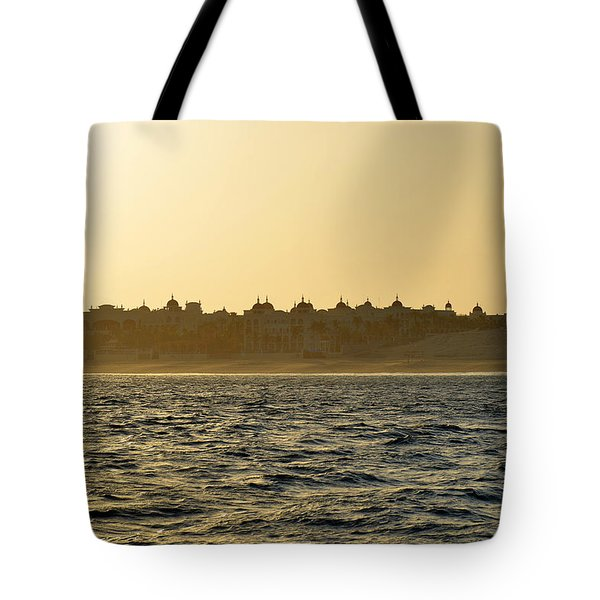Tote Bag featuring the photograph Sunset Over Cabo by Christine Till