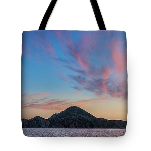 Tote Bag featuring the photograph Sunset Over Cabo by Sebastian Musial