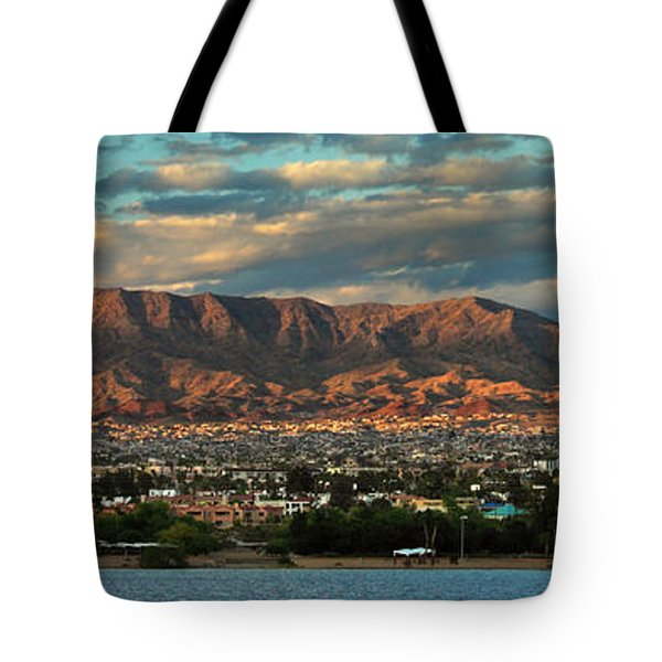 Sunset Over Havasu Tote Bag