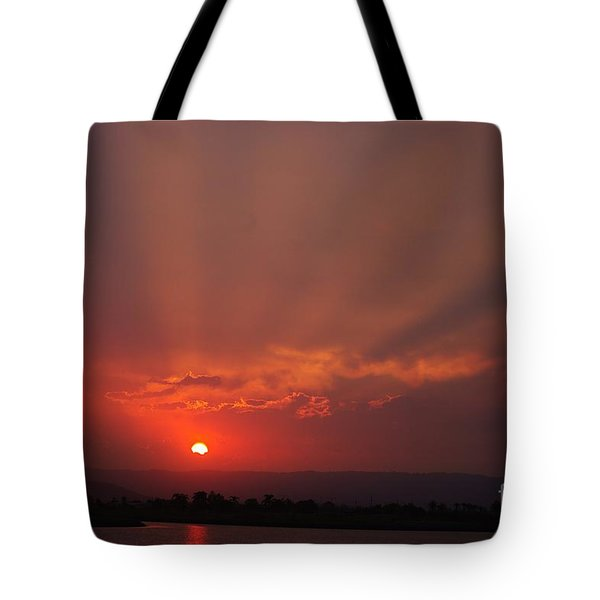 Sunset Over Hope Island 2 Tote Bag