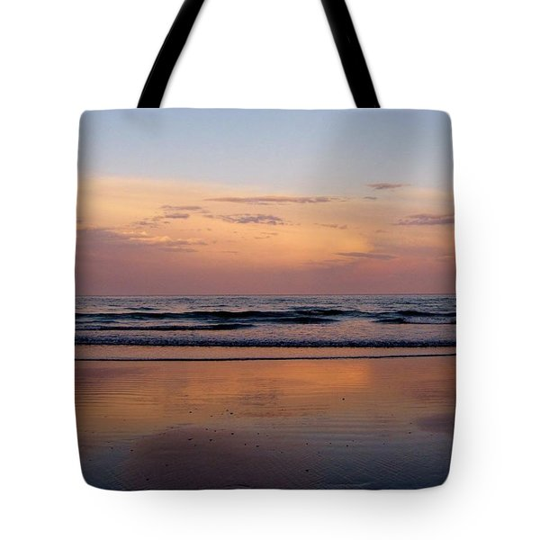 Sunset Over Long Sands Beach II Tote Bag
