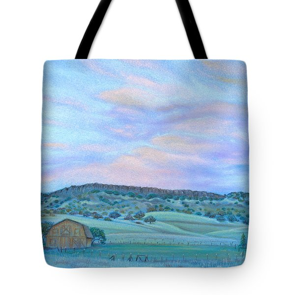 Sunset Over Table Mountain Tote Bag