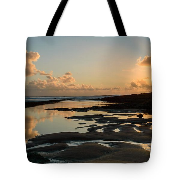 Sunset Over The Ocean IIi Tote Bag by Marco Oliveira
