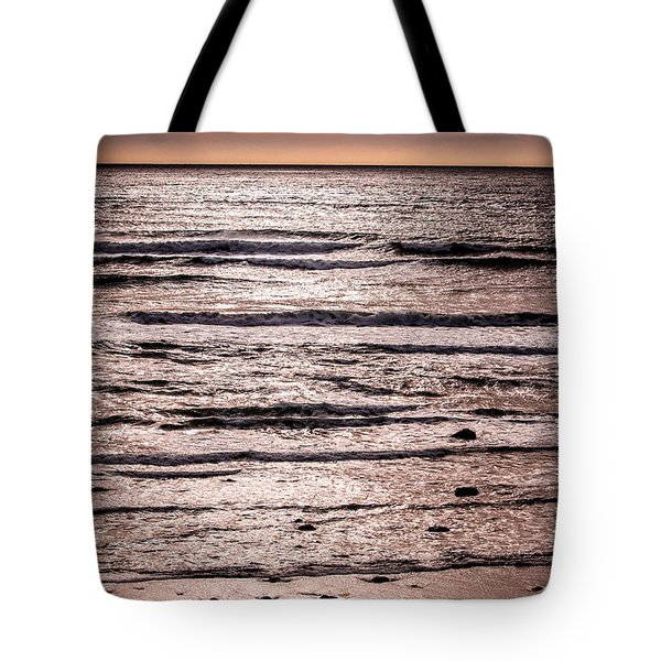 Sunset Ocean Tote Bag