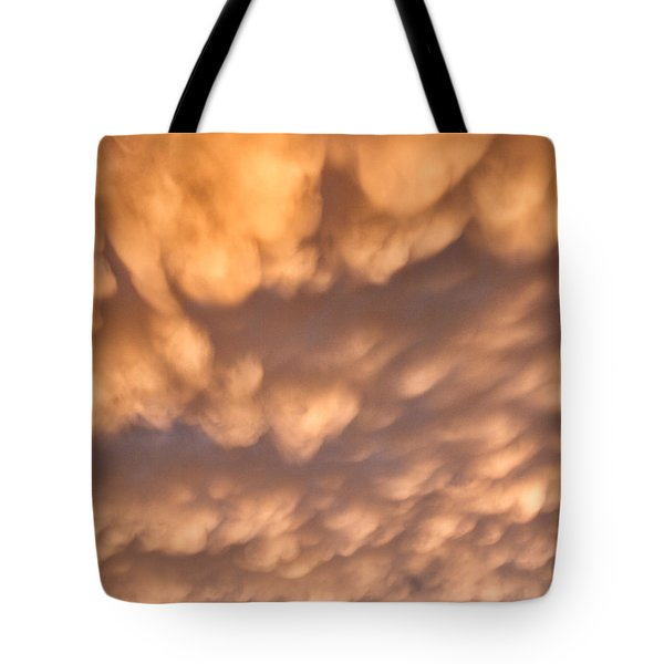 Tote Bag featuring the photograph Sunset Pillows by William Selander