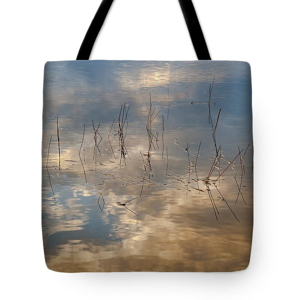 Sunset Reflection Tote Bag by Jean-Pierre Ducondi