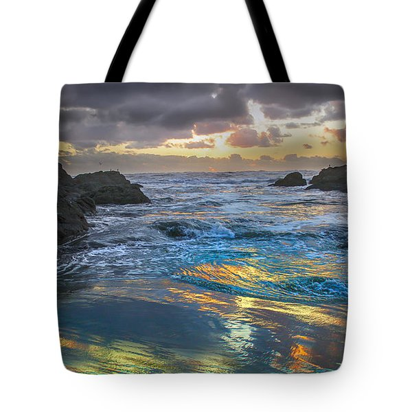 Sunset Reflections Tote Bag by Robert Bales