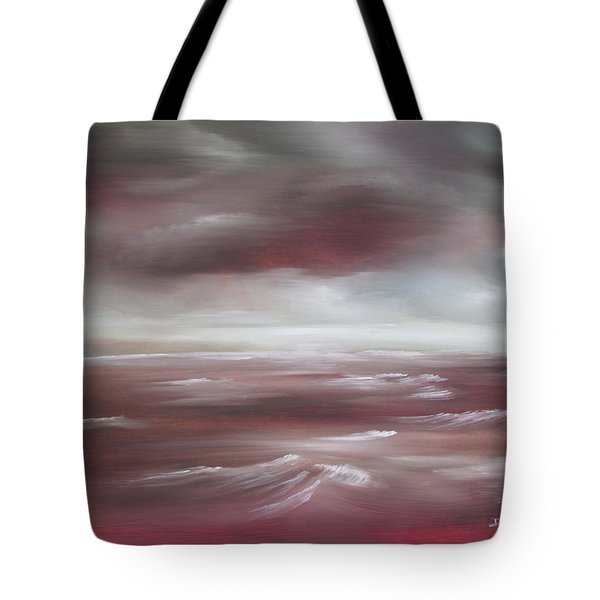 Sunset Sea Tote Bag