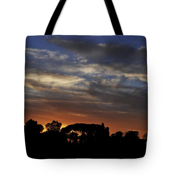 Sunset Tote Bag by Simona Ghidini