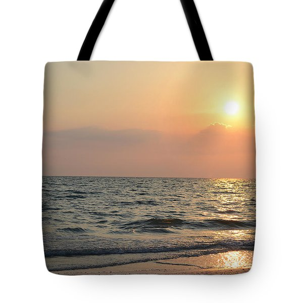 Tote Bag featuring the photograph Sunset Sky by Melanie Moraga