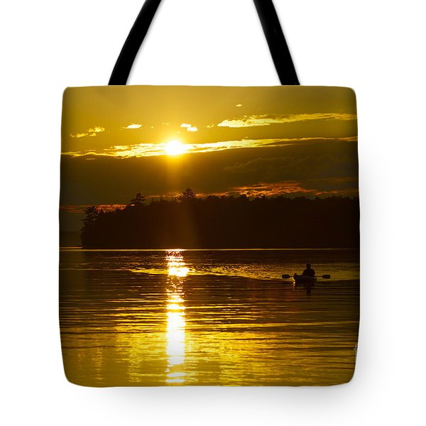 Sunset Solitude II Tote Bag