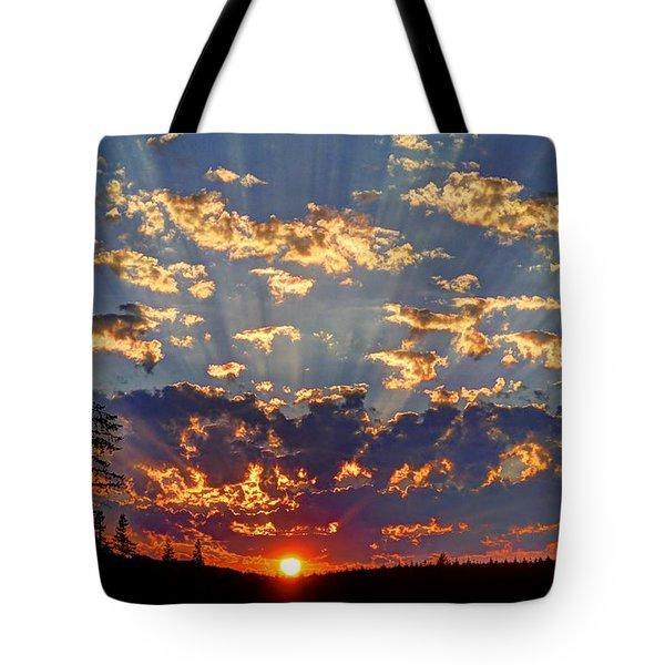 Sunset Spectacle Tote Bag