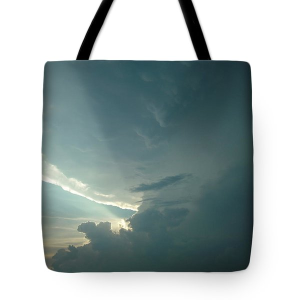 Sunset Supercell Tote Bag by Ed Sweeney