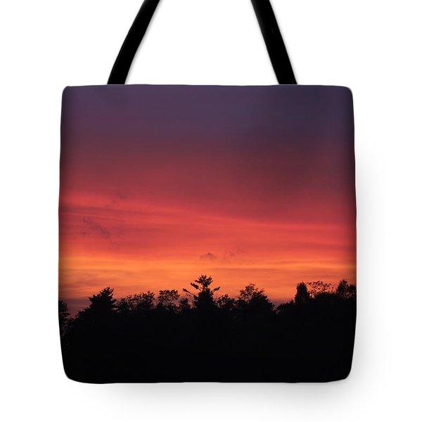 Sunset Tones Tote Bag